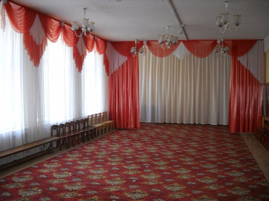 Занавес и шторы в музыкальный зал детского сада. Фото 2