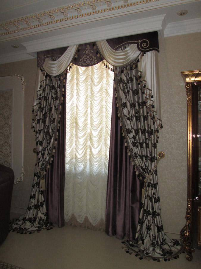Французская штора. Фото 2