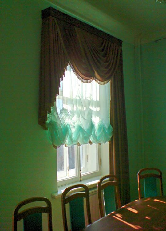 Австрийские шторы. Фото 4