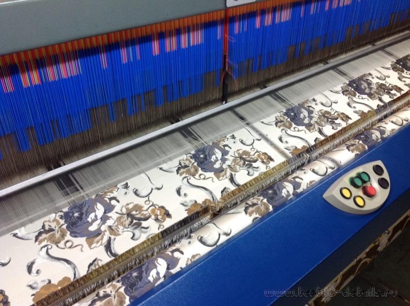 Производство портьерных тканей. Фото 10