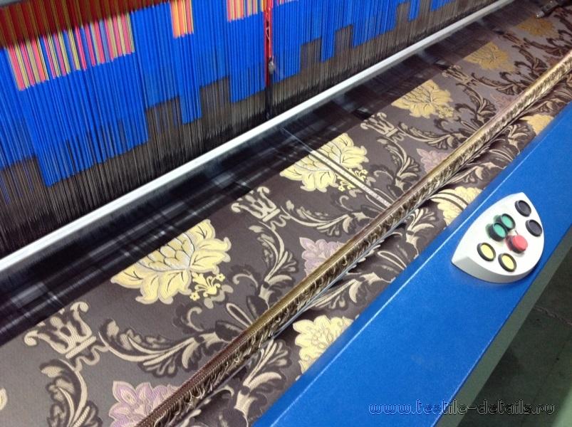 Производство портьерных тканей. Фото 2