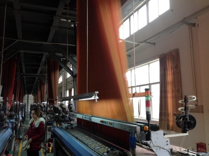 Производство портьерных тканей. Фото 3