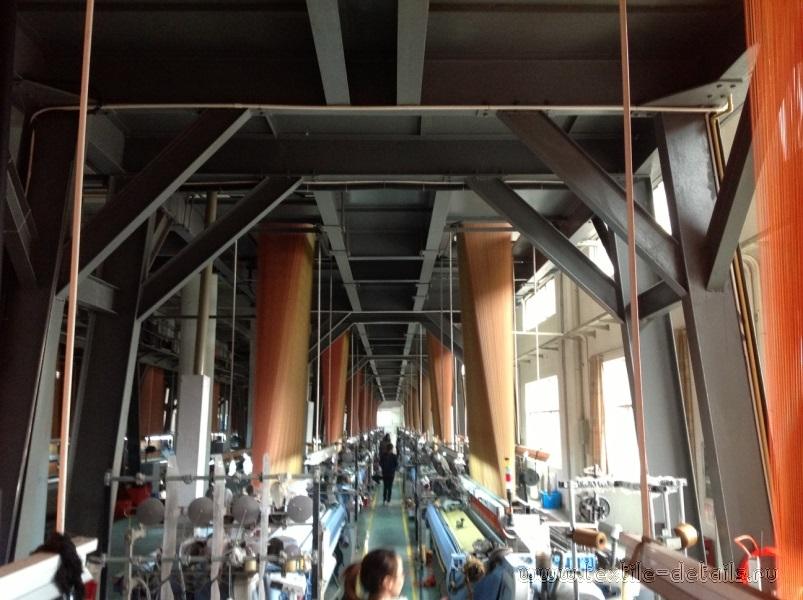 Производство портьерных тканей. Фото 6