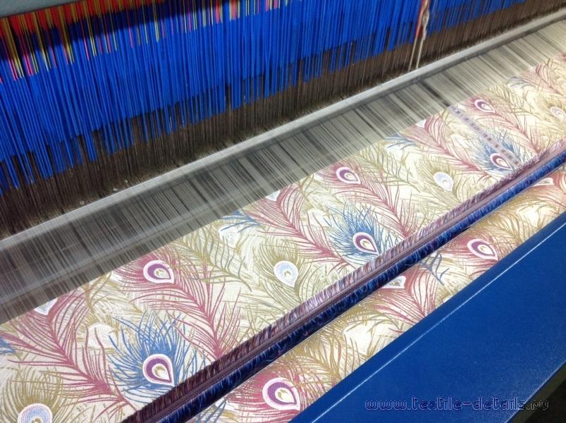 Производство портьерных тканей. Фото 7