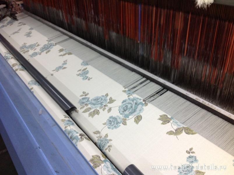 Производство портьерных тканей. Фото 9