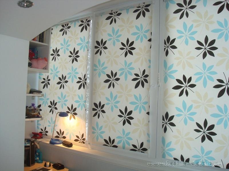 Рулонные шторы. Фото 1