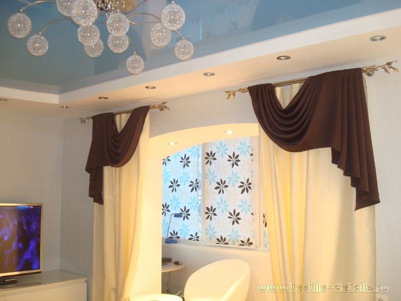 Рулонные шторы в интерьере. Фото 2