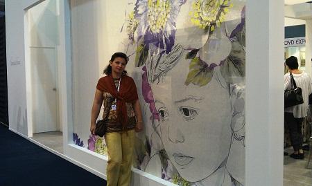 Наши дизайнеры на текстильной выставке в Бельгии. Фото 5